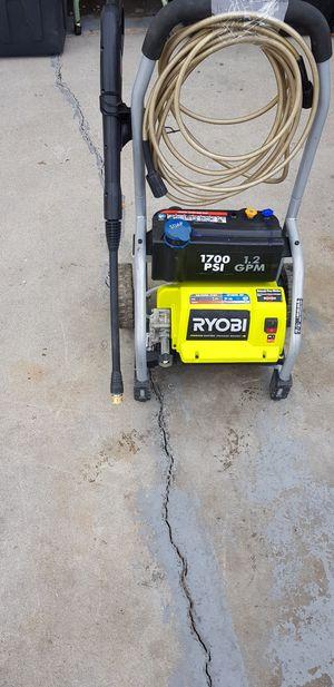 RYOBI pressure washer 1700psi for Sale in Boise, ID