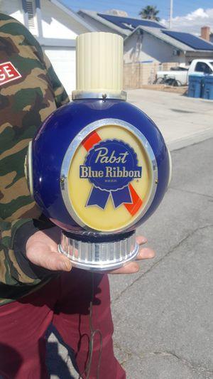 Photo Pabst Blue Ribbon light up sign