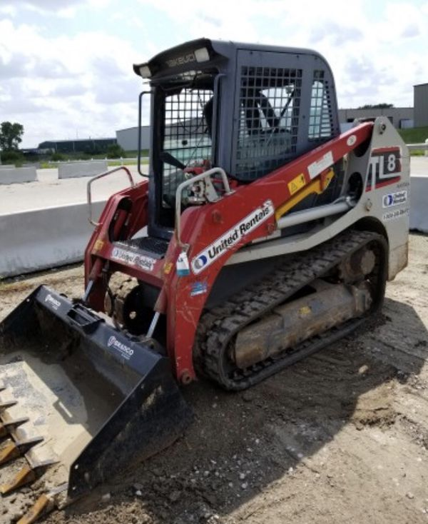 Track Loader For Sale >> 2014 Takeuchi Tl8cw Skid Steer Track Loader For Sale In Lincoln Ne