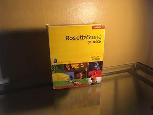 Rosetta Stone German Levels 1-3 for Sale in Portland, OR