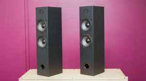 Photo Dayton Audio t652 Air Brandd Neww still wrapped tower speakers (pair)