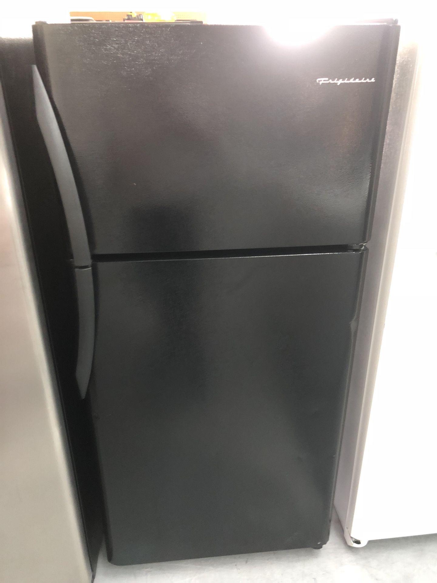Frigidaire black fridge
