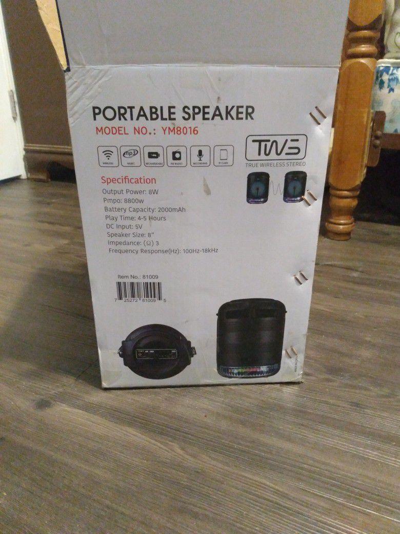Yat Wireless Bluetooth Speaker