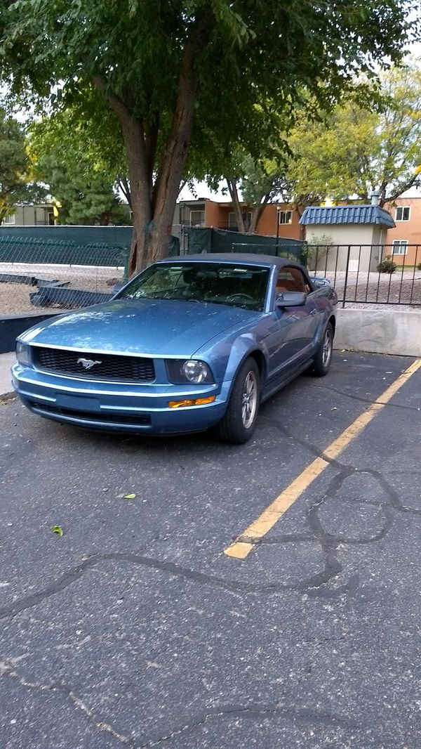 2005 Ford Mustang Convertible For In Albuquerque Nm