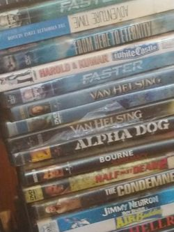 DVD'S 120 OF THEM And Portable Dvd Player Thumbnail