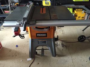 Ridgid Professional Table Saw For In Pittsburgh Pa