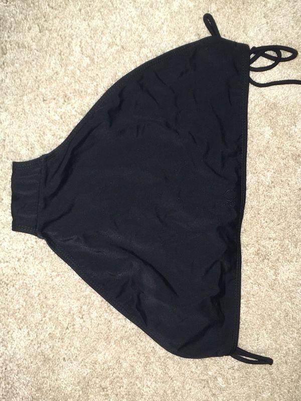 Basic Black OP Swimsuit Bottoms Size XL