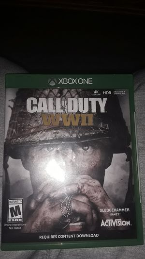 Call of duty ww2 xbox one for Sale in Louisville, KY