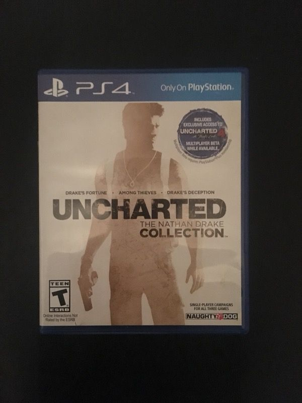 Uncharted 3 games in 1 disc