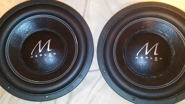 Merlon audio spl m3 12 for Sale in Houston, TX - OfferUp