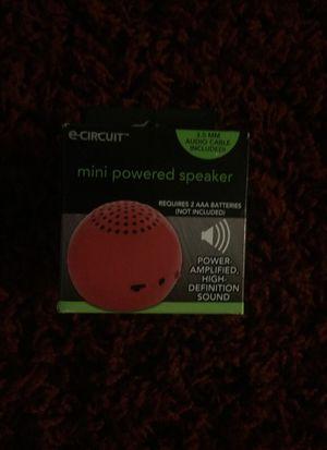Mini Powered Speaker for Sale in Salt Lake City, UT