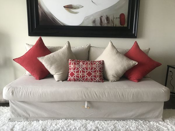 Marvelous Ikea Himmene Sofa Bed Futon For Sale In Fort Lauderdale Fl Bralicious Painted Fabric Chair Ideas Braliciousco