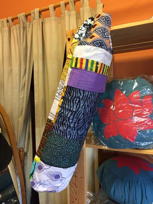 Yoga mat bag - brand new made in Africa for Sale in Seattle, WA