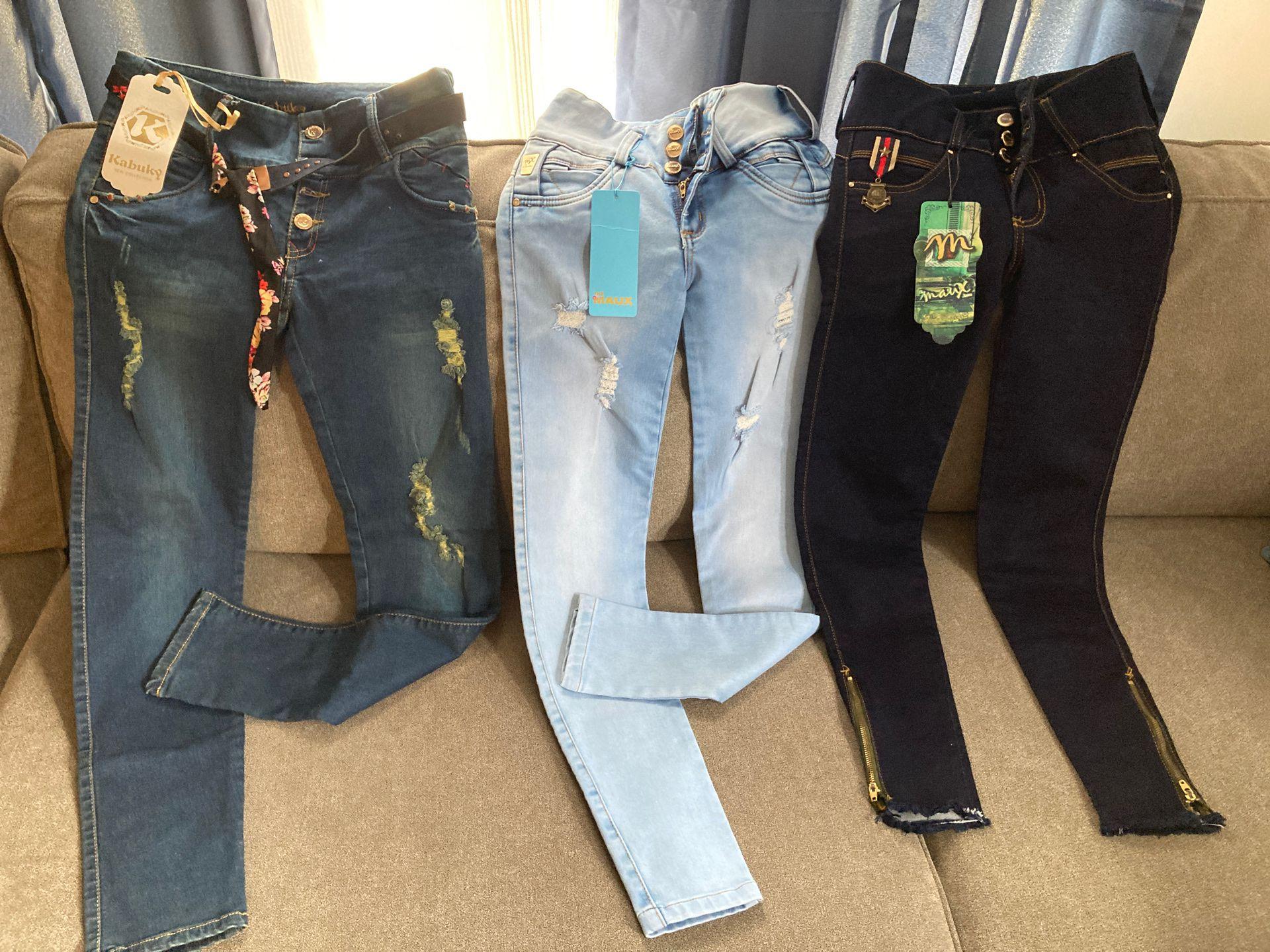Lift butt 100% Colombian Jeans size 10