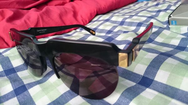 Gianni Versace Vintage Matte Black Gold Sunglasses Lady Gaga Rare  Collectors for Sale in New York, NY - OfferUp