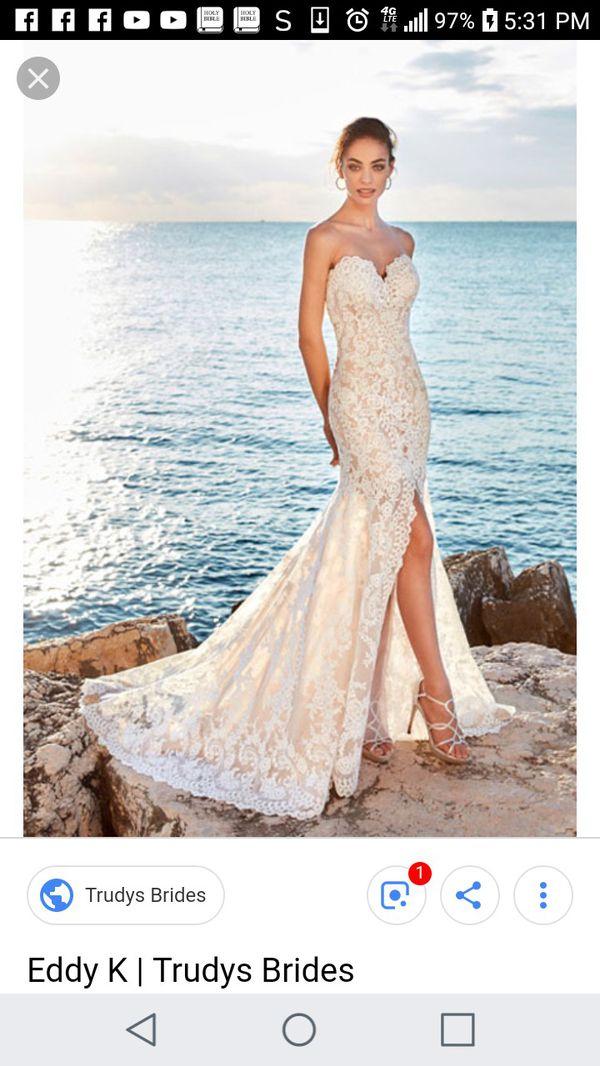Eddy K Wedding Dress For Sale In San Jose Ca Offerup