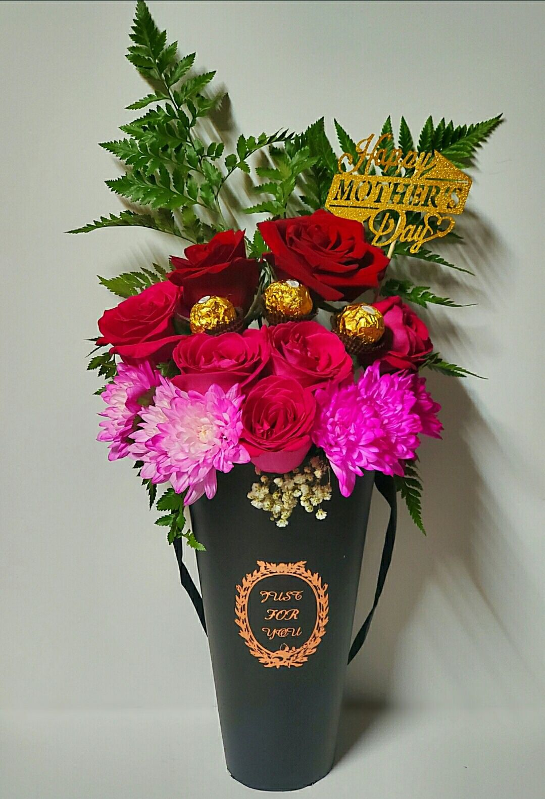 Arrangement of flowers for Mother's Day