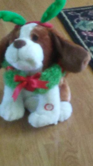 Christmas Dog with batteries for Sale in Bunker Hill, WV
