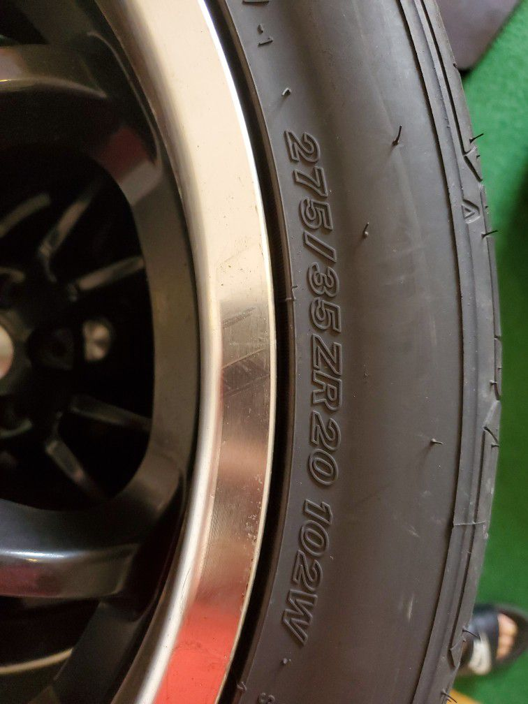Steeda Wheels Nitto Invo Tires Rims