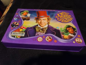 Willy Wonka collectors edition on Blu-Ray Thumbnail