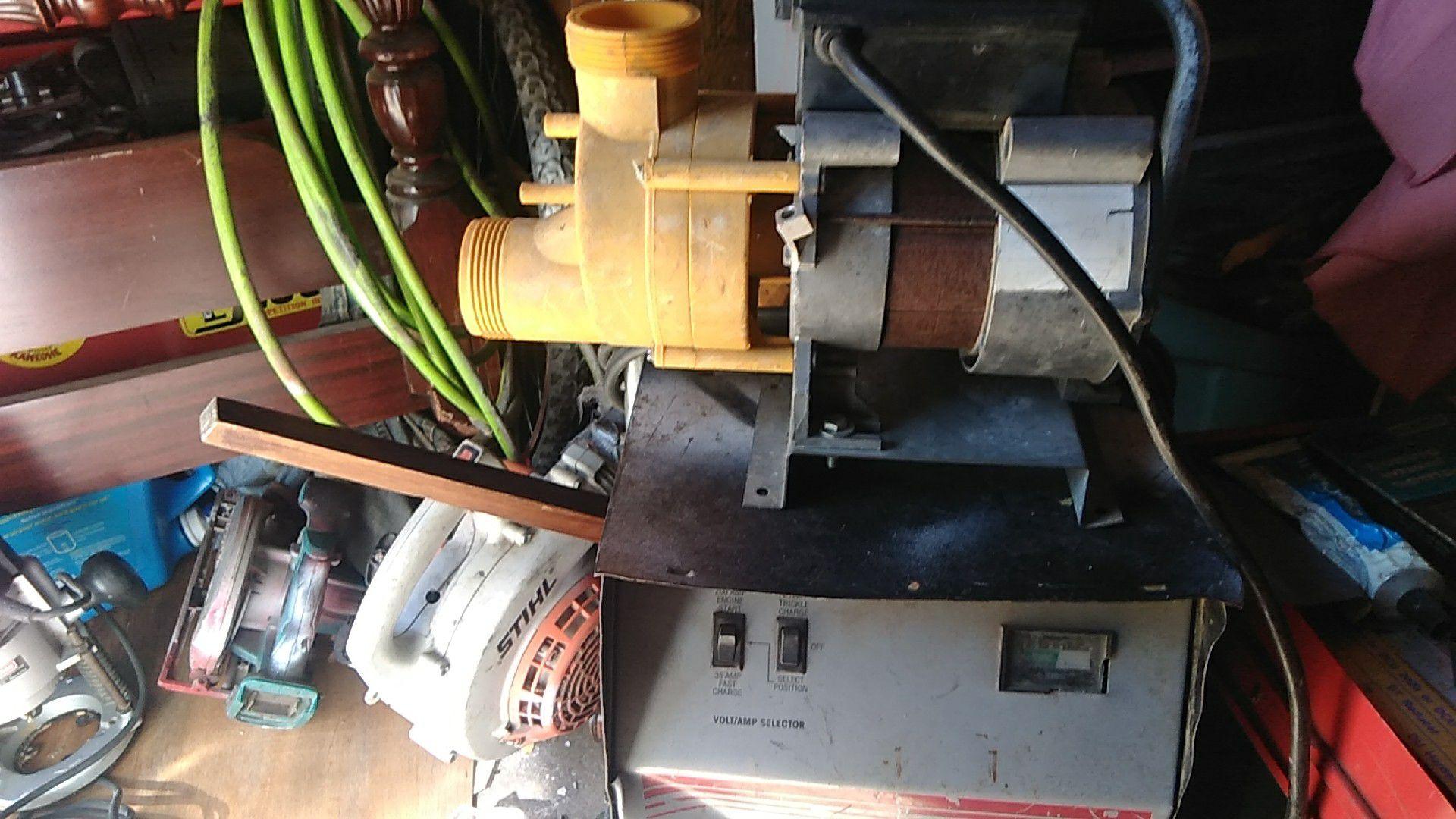 Aqua glass pump hot tubs and spas
