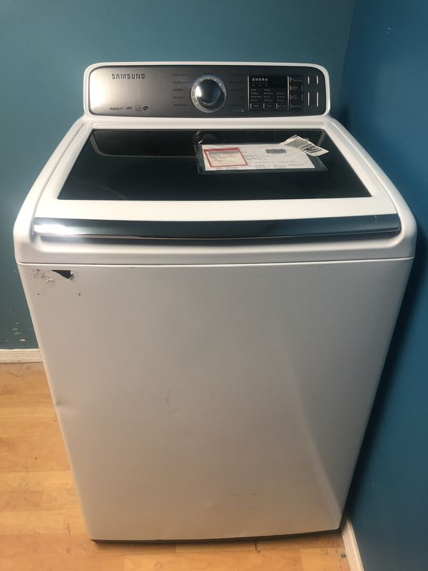 Brand New Samsung 4 8 Cu Ft Top Load Washer (Scratch and Dent) for Sale in  Halethorpe, MD - OfferUp
