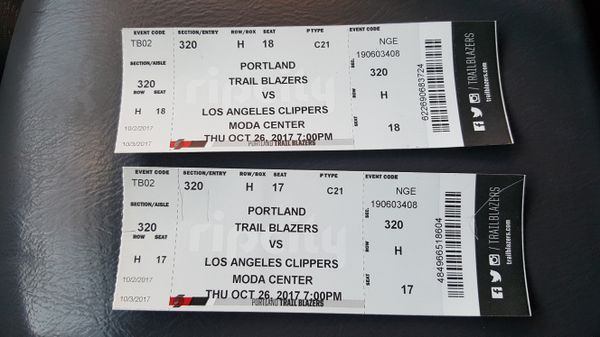 hot product reasonably priced running shoes Blazer Tickets for Sale in Portland, OR - OfferUp