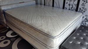 New Queen Size Pillowtop Mattress + Box Spring for Sale in Arlington, VA