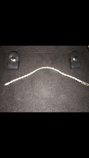 sterling silver rope bracelet for Sale in Sandy, UT