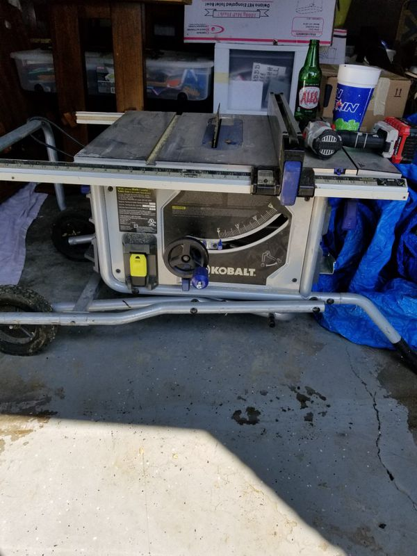 Marvelous Kobalt Table Saw With Stand For Sale In Winchester Ky Offerup Download Free Architecture Designs Scobabritishbridgeorg