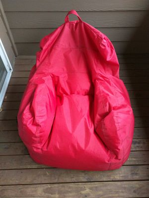 Wondrous Big Joe Dorm Bean Bag Chair Flaming Red For Sale In Gmtry Best Dining Table And Chair Ideas Images Gmtryco