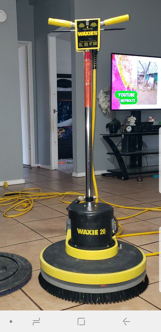 Máquina para lavar pisos