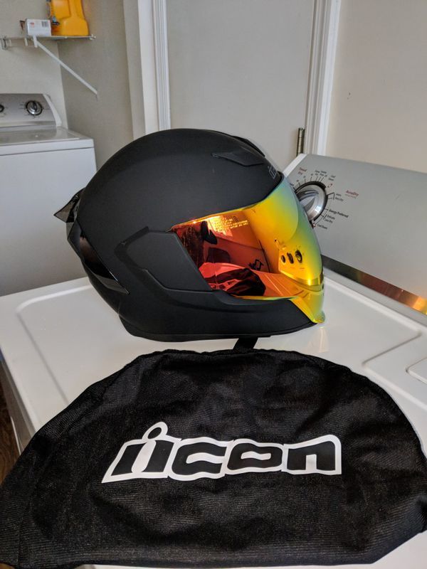 Icon Sheild Airflite Shields All Colors Rst Silver 0130-0781