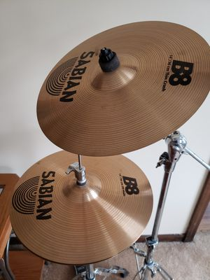Sabian 8X cymbals for Sale in Naperville, IL