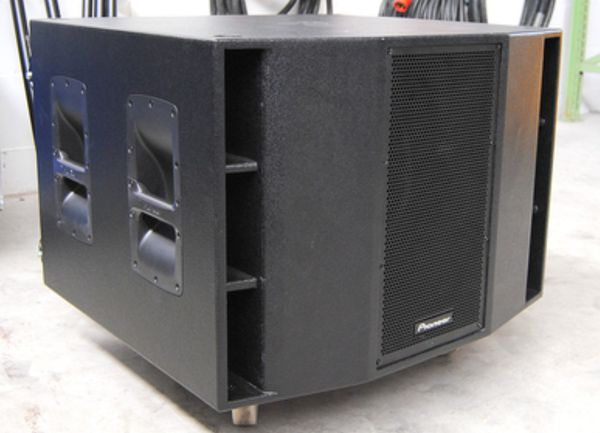Pioneer XRRS215s Powered Dual 15 Subwoofer 2400 watts for