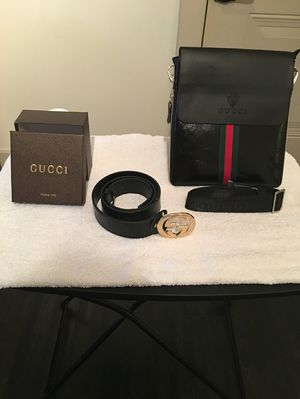 82860fd8a00 Gucci purse with matching belt for Sale in Lauderhill
