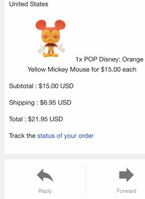 Funko POP! Exclusive. Mickey Mouse. Confirmed order. for Sale in Fairfax, VA