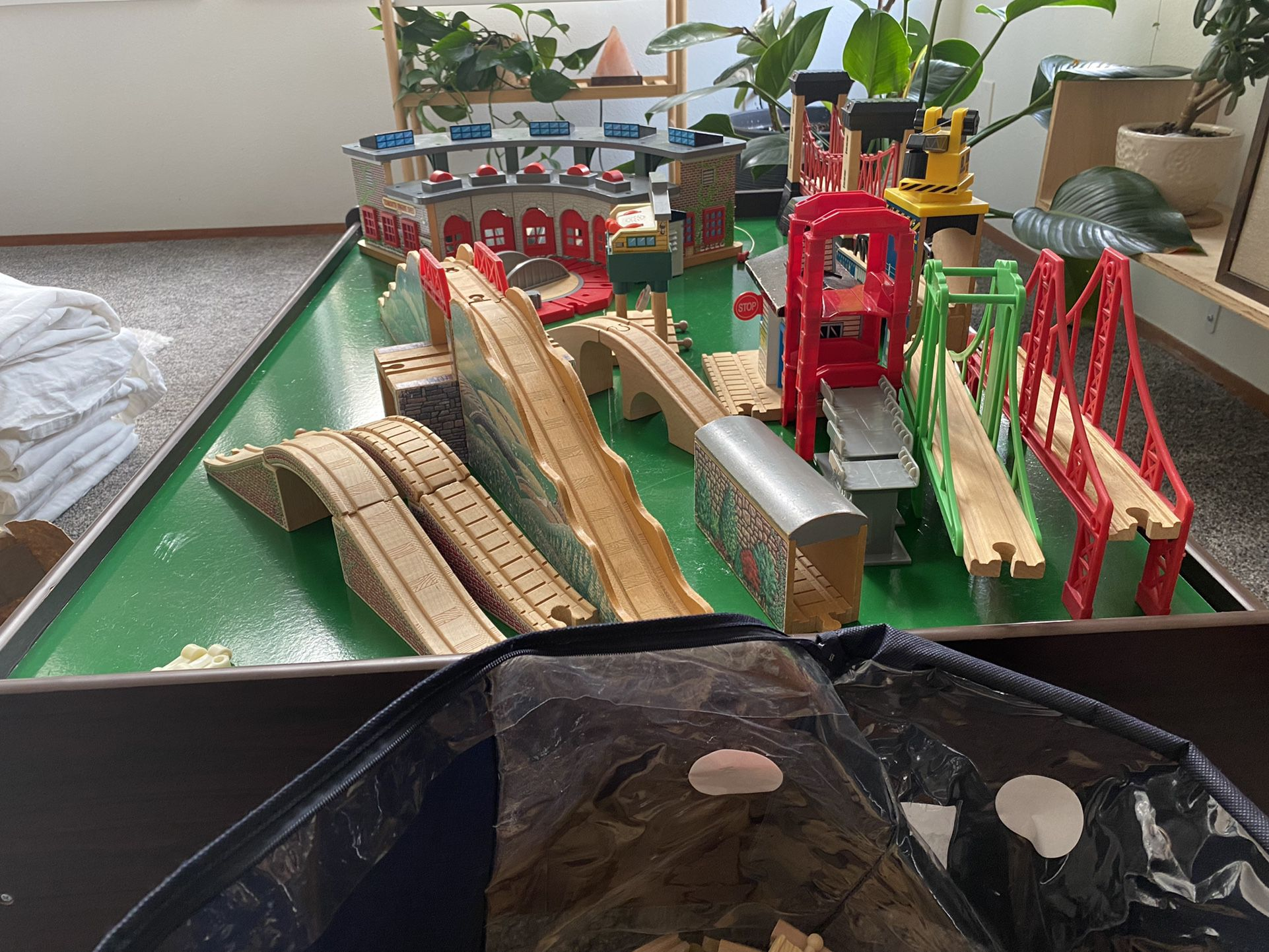 Thomas And Friends, Brio, Melissa And Doug, Train Table And Accessories