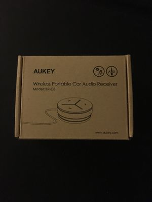 AUKEY Car Bluetooth Audio and Phone Receiver for Sale in Chapel Hill, NC