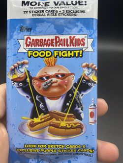 2021 Topps Garbage Pail Kids Food Fight! 22 Card Pack Exclusive Pack Thumbnail