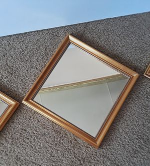 gold mirror set for Sale in Sunset Valley, TX