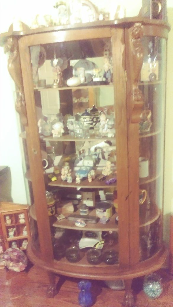- Antique Curio Cabinet (Antiques) In Greenville, SC - OfferUp