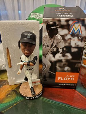 Photo CLIFF FLOYD BOBBLEHEAD FLORIDA MARLINS (PICKUP ONLY)