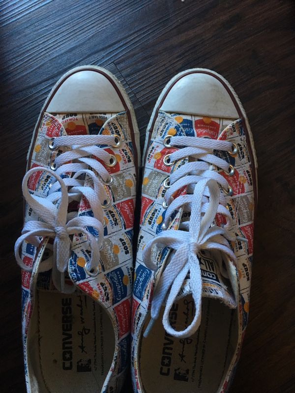 ad6cdb672b4f9b Andy Warhol converse shoes chucks for Sale in Colton