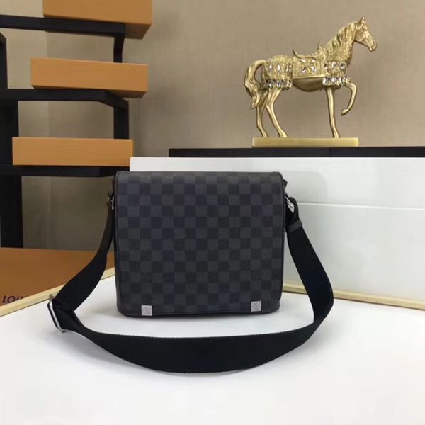 418abd155c3 Brand New LOUIS VUITTON Damier Graphite MMB Black (Now Available for  order). Queens ...