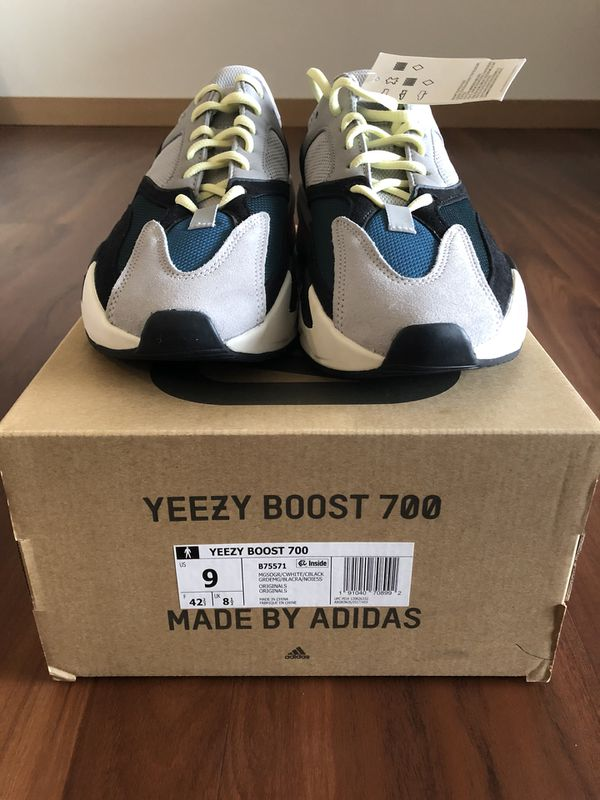 20582cdc0049c ADIDAS YEEZY BOOST 700 WAVE RUNNER GREY DEADSTOCK SZ 9.5 for Sale in ...