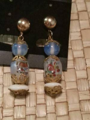 Beautiful vtg. Japanese earrings Amita for Sale in Tacoma, WA