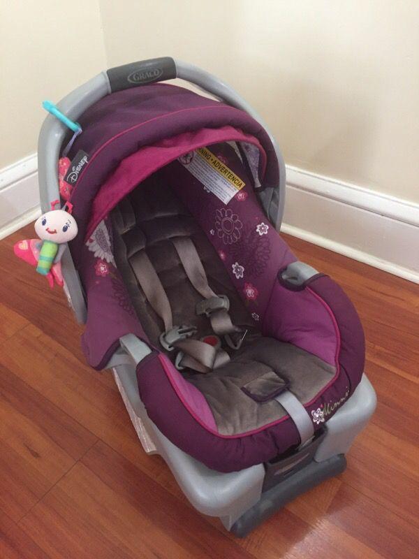 Graco SnugRide 30 Infant Car Seat- Purple Minnie Mouse (Baby & Kids ...