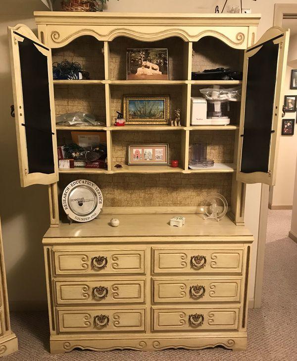 Vintage 4 Piece Kenlea Craft Bedroom Furniture For Sale In