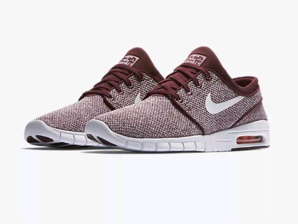 various colors 53e31 8af24 New in box Men s Nike SB Stefan Janoski Max Dark Team Red White Shoes  631303 618